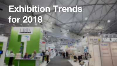 Exhibition Trends for 2018