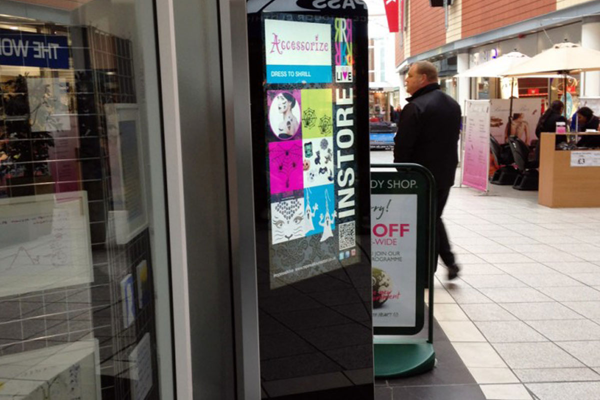 Freestanding Digital Signage